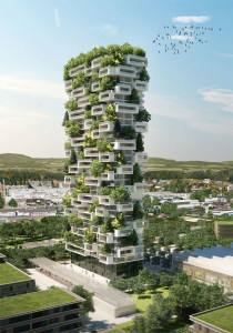 36-story tower in Lausanne, Switzerland