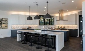 The spacious kitchen is perfect for Teigen, who is a food blogger and cookbook author.