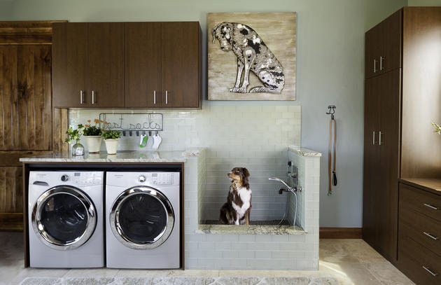 Laundry Room Makeover Dog Wash Station Edition Drew S