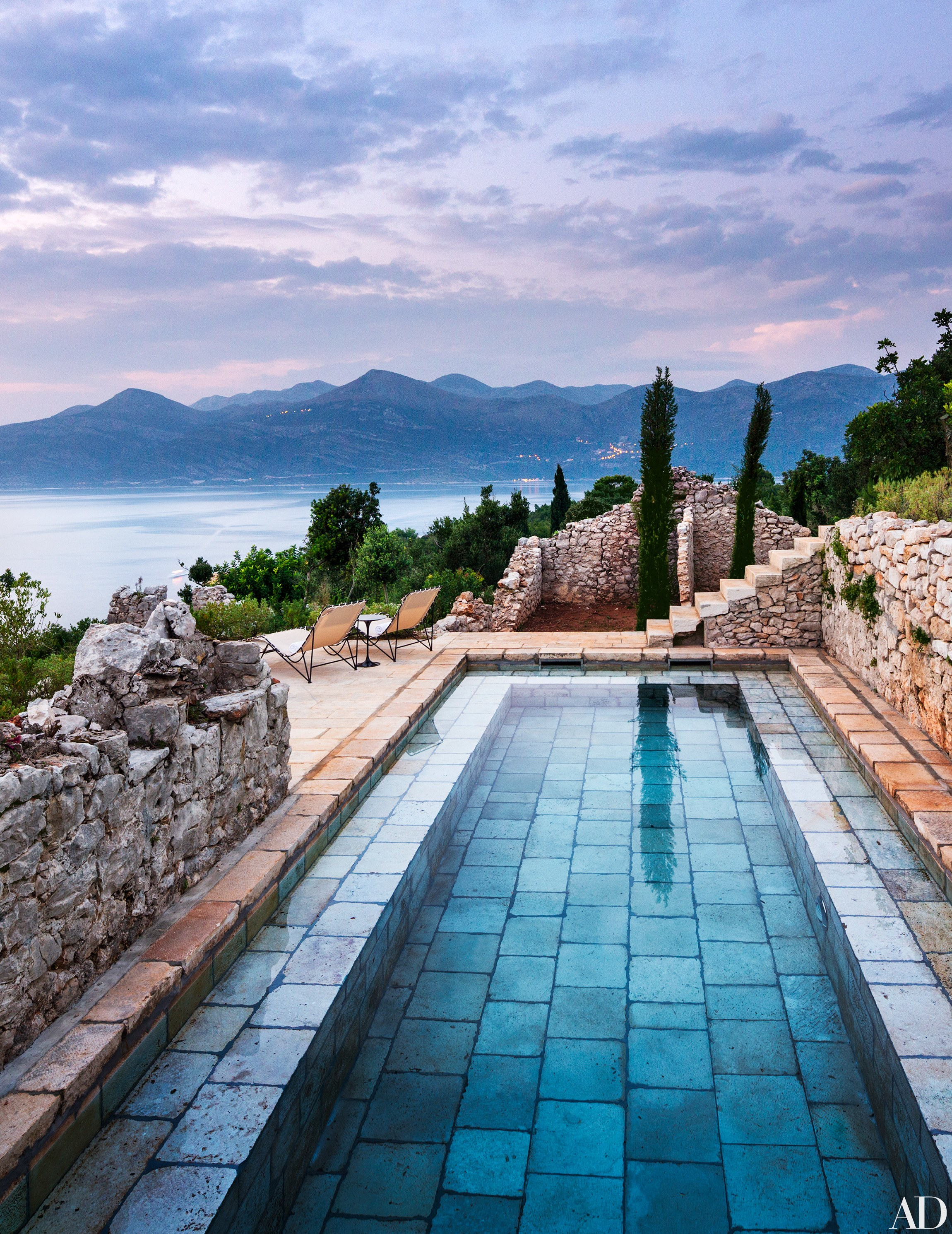 Architectural Digest Swimming Pool